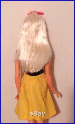 Vintage Mod 1967 Platinum Blonde Twist N Turn TNT Barbie 1160 Japan Mint