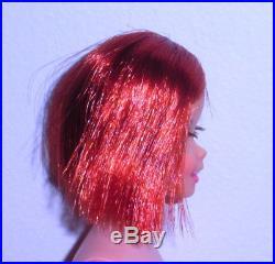Vintage Mod 1967 Titian Redhead Twist N Turn TNT Casey Francie Japan Mint