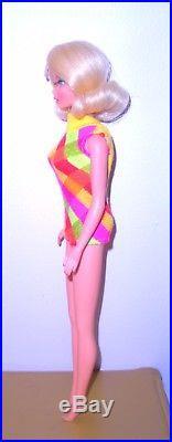 Vintage Mod 1969 Pale Blonde Twist N Turn TNT Marlo Flip Barbie 1160 Japan Mint