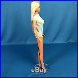Vintage Mod 1971 Platinum Blonde Malibu Barbie Japan TNT Era Mint HEAD CELLO