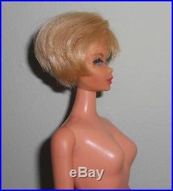 Vintage Mod BLONDE HAIR FAIR BARBIE Doll HEAD on Japan TNT BODY in Knit Fashion