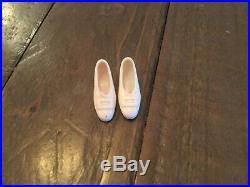 Vintage Mod Barbie 1969 No Bangs Francie Rare White Japan Buckle Heels