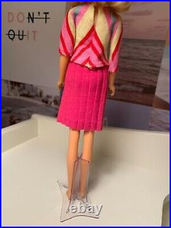 Vintage Mod Era 1971 Blonde Twist N Turn TNT No Bangs Francie Doll Mattel