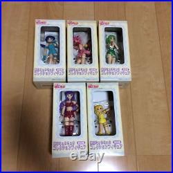 Vintage NEW Tokyo Mew Mew Collectio Figure Doll Full set 5 SEGA JAPAN AgetaYukio