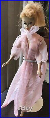 Vintage Number 3 Ponytail Barbie Blonde Brown Eye Shadow NO RETOUCHES 1960