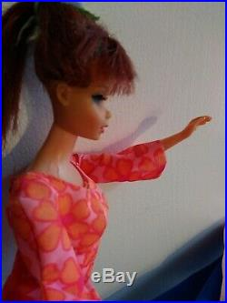 Vintage Original 1966 Barbie Doll Twist n Turn Japan with Eyelashes