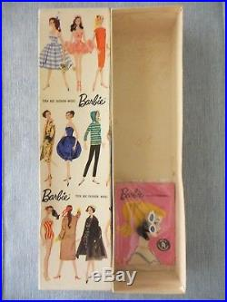 Vintage Original Barbie Ponytail Box, Stock #850 Japan w Accesories No Doll
