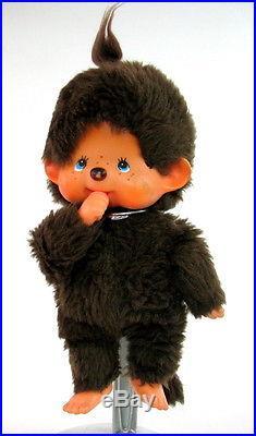 Vintage Original Monchhichi Monchichi Japan Made 1974 Rare Doll Sekiguchi See