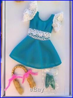 Vintage Platinum Blonde HAIR HAPPENIN'S Francie Doll Complete 2pc Swimsuit n Box