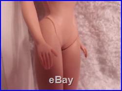 Vintage Ponytail Barbie 1960's Long Brunette Pony Tail Japan Mattel Barb Body #2