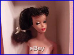 Vintage Ponytail Barbie 1960's Long Brunette Pony Tail Japan Mattel Body # 5