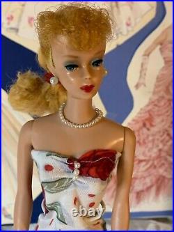 Vintage Ponytail Barbie Strawberry Blonde 1960's