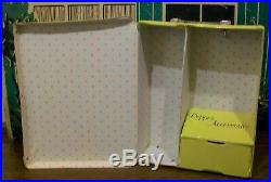 Vintage Pos N Pepper Doll Ideal 1964/Case &11 Tagged Japan Outfits/Tammy Sister