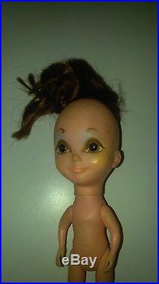 Vintage RARE 1968 Kamar Japan PRE BLYTHE Big Eyed Doll