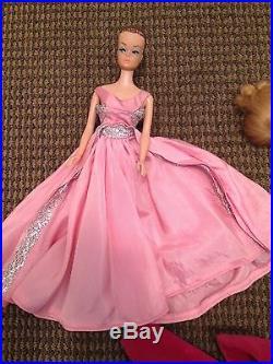 Vintage Rare 1958 Barbie 1962 Midge Doll # 2 With Wig Mattel Japan On Foot
