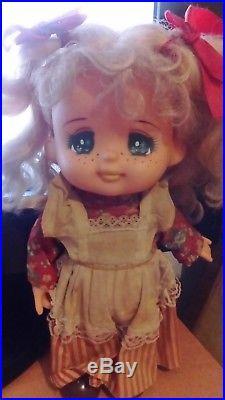 Vintage Rubber Candy Candy Doll Popy Japan Igarashi Yumiko Lady Georgie