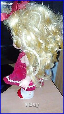 Vintage Rubber Candy Candy Doll Popy Japan Igarashi Yumiko Lady Georgie Lot of 2