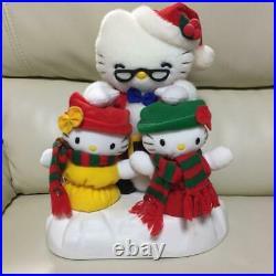 Vintage Sanrio Hello Kitty Plush doll Stuffed animal Plushy Japan Rare Music