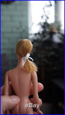 Vintage Swirl Ponytail Barbie Blonde 1964 Japan