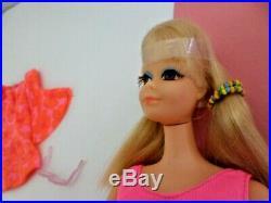 Vintage TNT PJ BARBIE 1970's doll & Mod outfit #1118