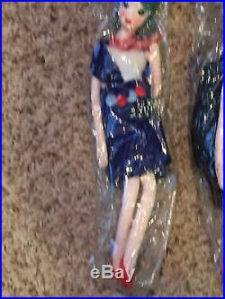 Vintage Teenager Handmade in Japan Pose Dolls 1950's 12 Set of 4 New Old Stock