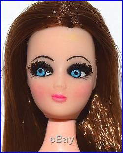 Vintage Topper Dawn Doll Rare Side Part Dancing Longlocks with Japan Body! Lot B7