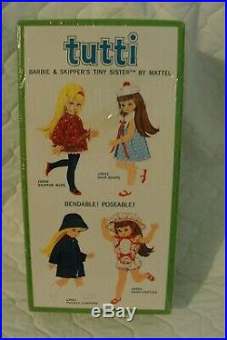 Vintage Tutti Doll/Barbie's Tiny Sister 1965' by Mattel NRFB HARD TO FIND! #3550