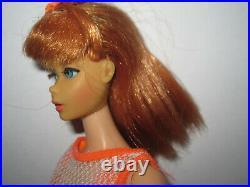 Vintage Twist N Turn Barbie Doll Titian
