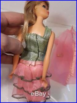 Vintage Twist N Turn Barbie Dressed Doll in Scene Stealers Japan Heels