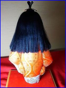 Vintage Very cute and beautiful Japanese KIMEKOMI doll from JAPAN #1029