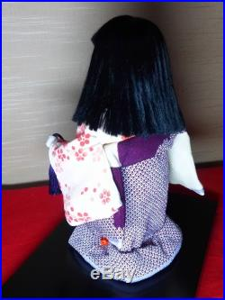 Vintage Very very beautiful Japanese doll Kimono with a bell from JAPAN #1027