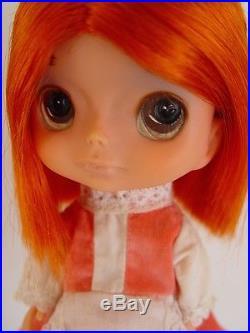 Vintage big eyes Kamar Gigi Jones doll Japan 1968