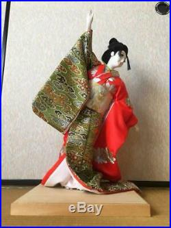 Vintage japanese doll kimono Geisha beautiful Figure Kyoto Japan Traditional 21