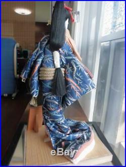 Vintage japanese doll kimono Geisha beautiful Figure Kyoto antique 53.0cm 20.8