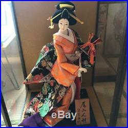 Vintage japanese doll kimono Geisha beautiful Figure Kyoto antique Japan Asia