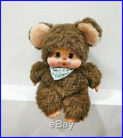 Vintage monchhichi bear toho daisuke japan doll