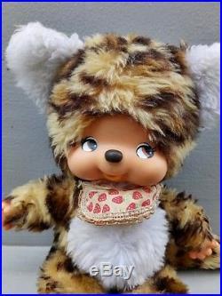 Vintage monchhichi sekiguchi leopard japan doll
