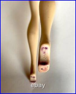 Vintage ponytail barbie doll 3 brunette hair brown eyeshadow Mattel Beautful
