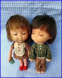 Vintage rubber fran nar moppets Lover shiba japan doll
