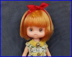 Vintage takara japan doll 4in