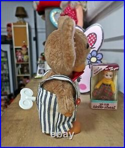 Vintage tom and jerry masudaya tokyo music box japan doll 8