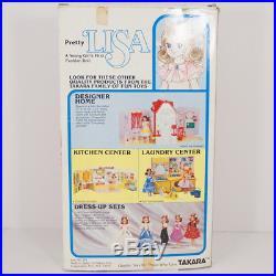 Vtg Pretty Lisa Doll with Original Box Takara Made in Japan