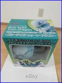Yu-Gi-Oh! Duel Monsters Blue Eyes Toon Dragon 37cm Plush Doll Vintage opened